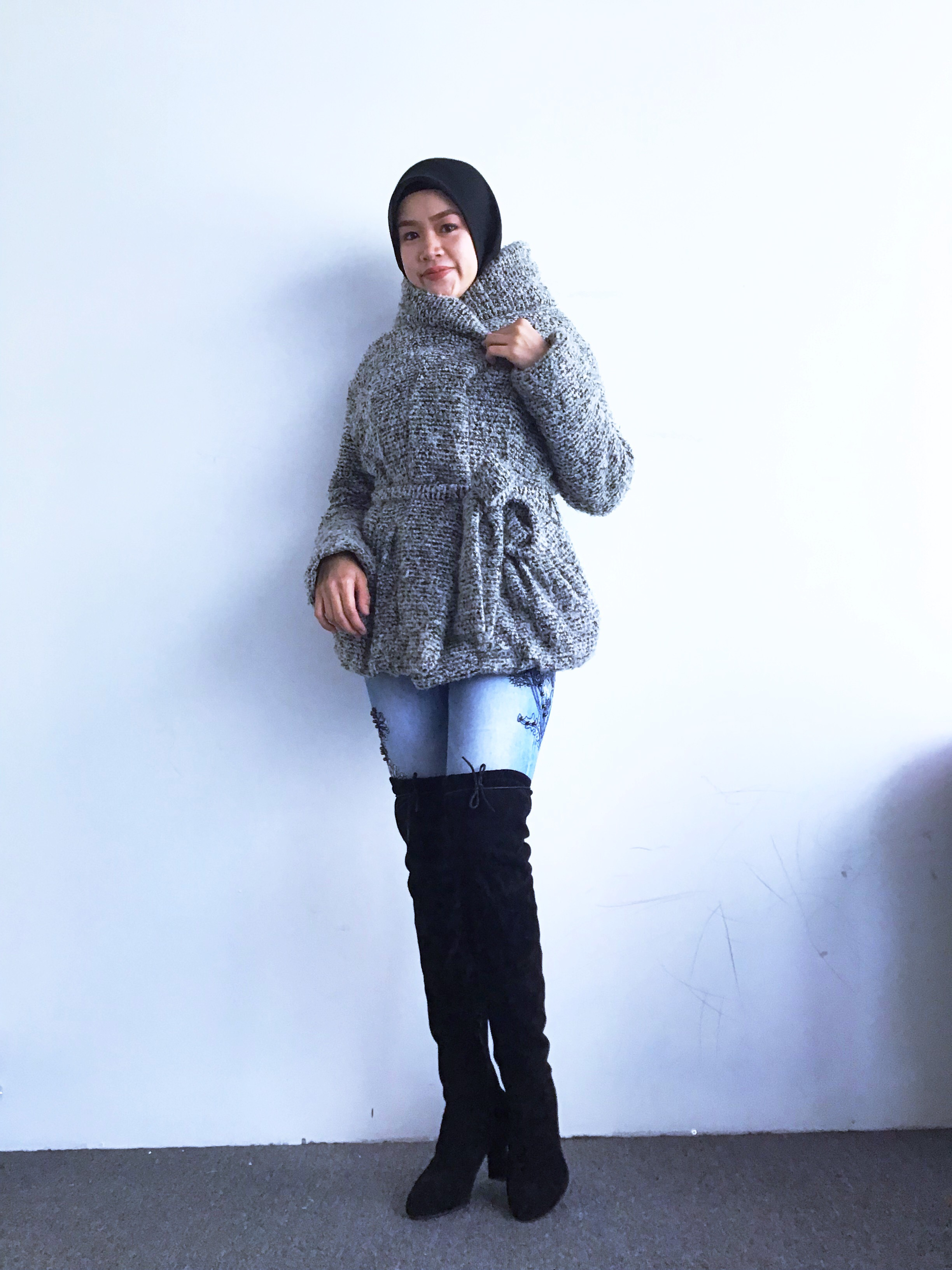 BJ0200 GREY WOOL JACKET
