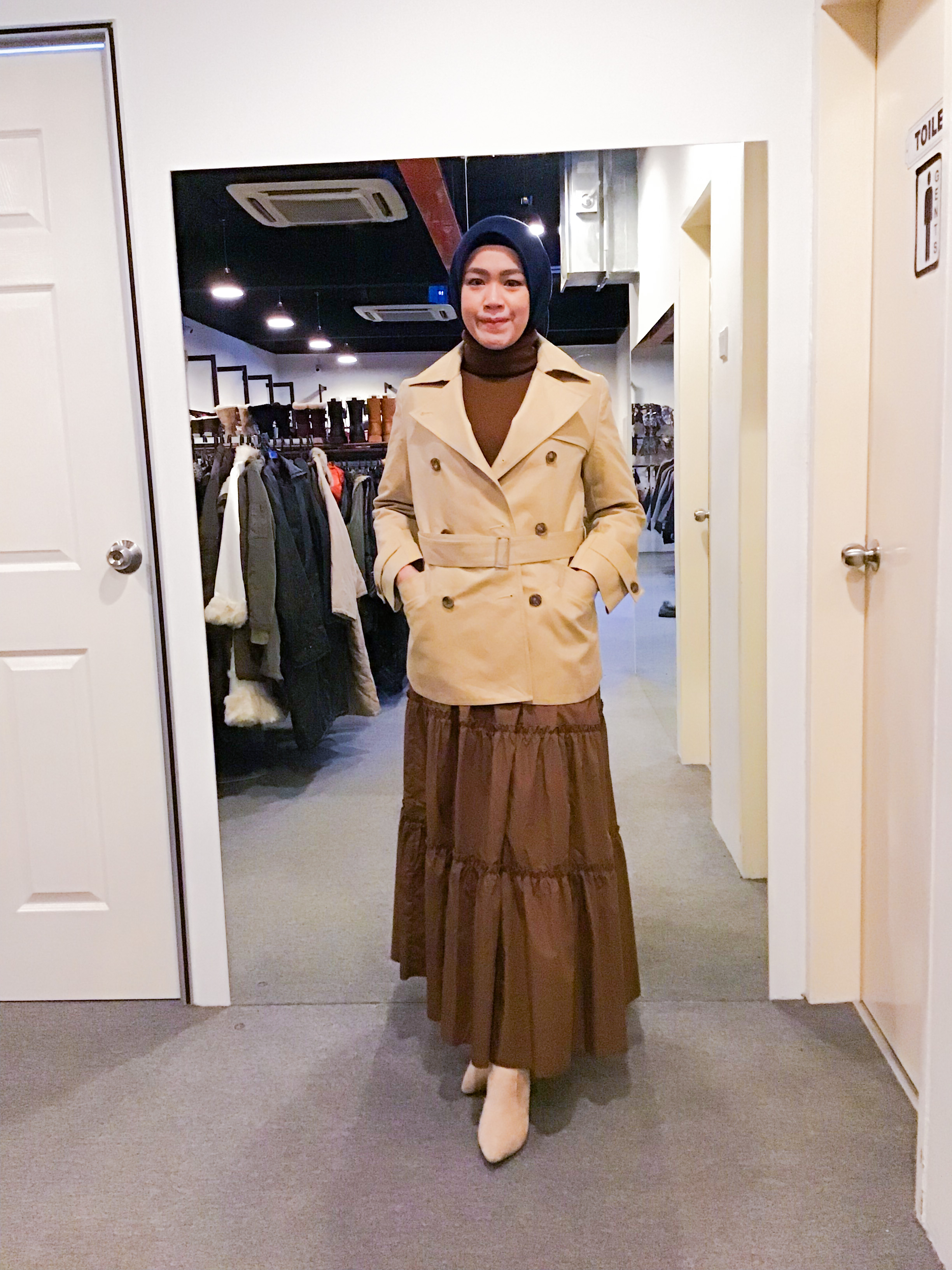 BJ1171 CORDIER TRENCH COAT