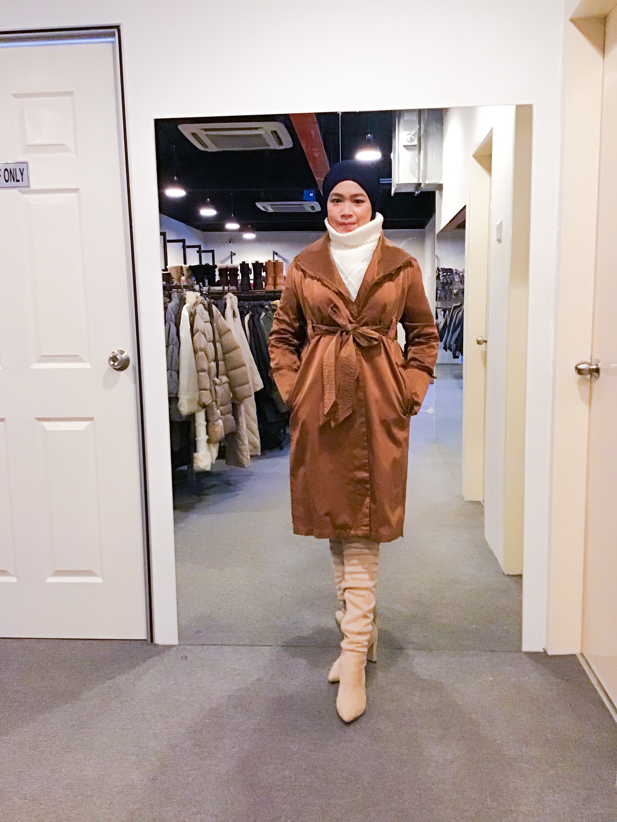BJ1221 YLANGYLANG TRENCH COAT