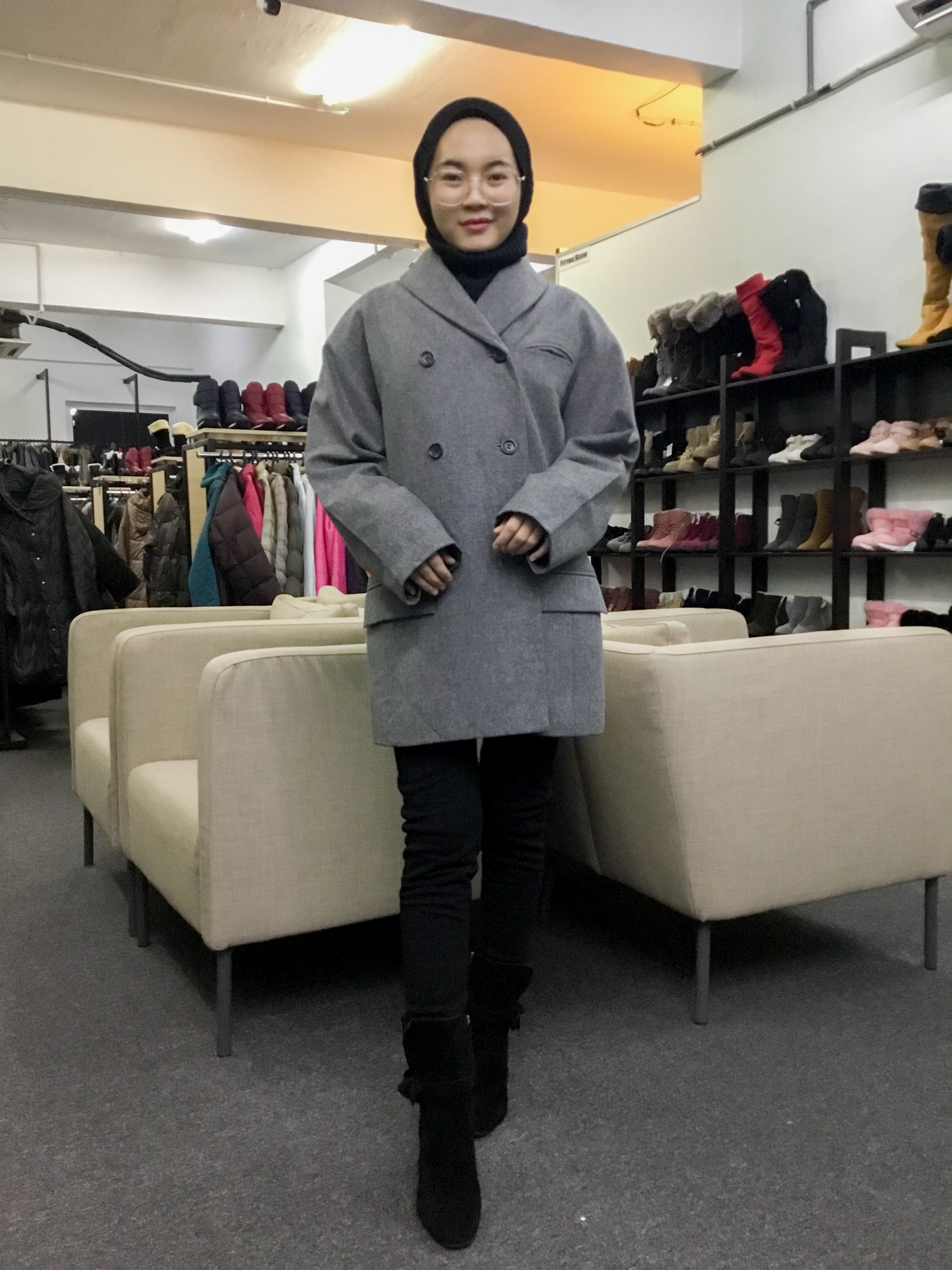 BP6312 OFU WOOL COAT