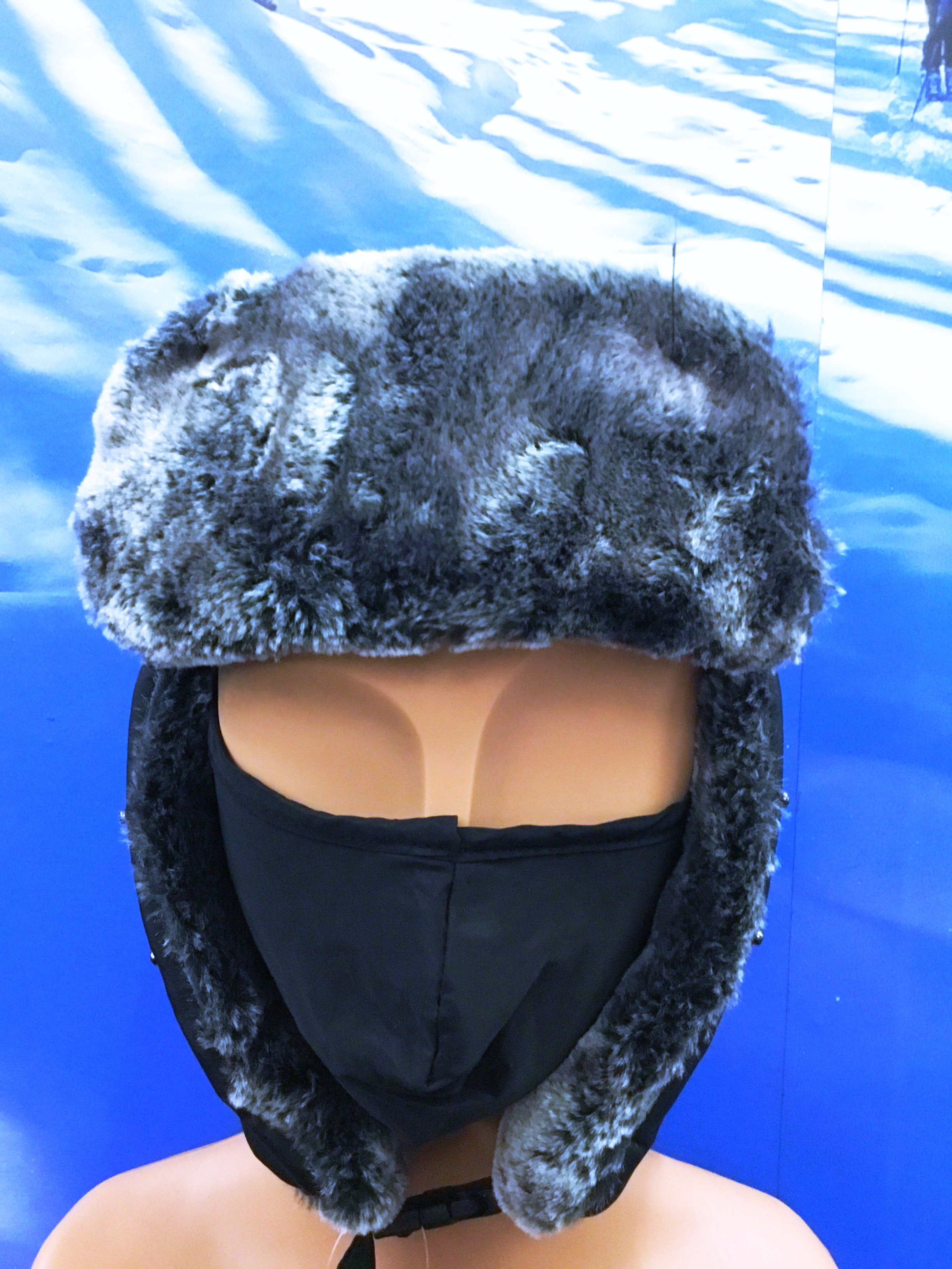 WATERPROOF SNOWCAP WITH MOUTH COVER