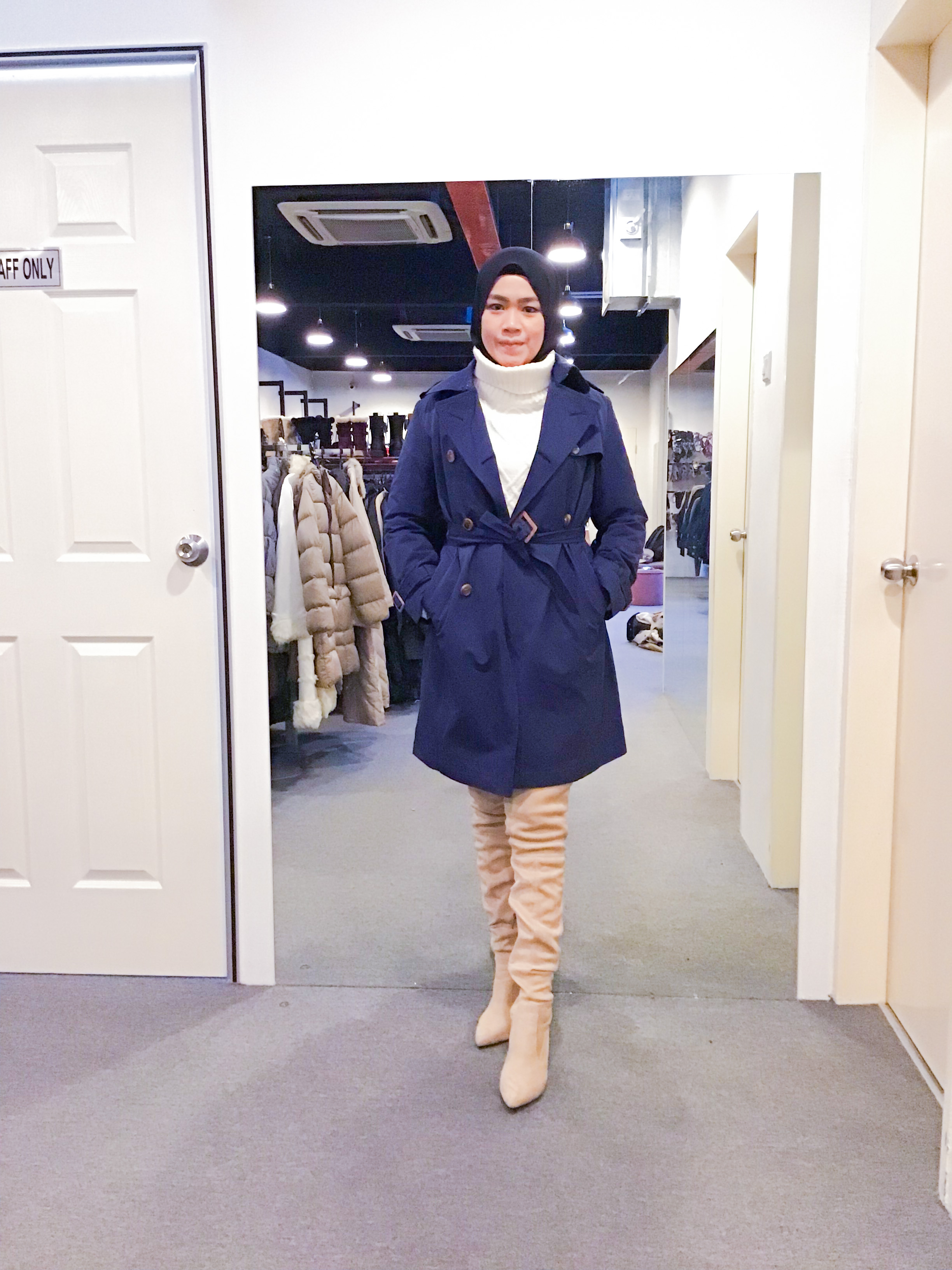 BJ1270 BEGUM TRENCH COAT