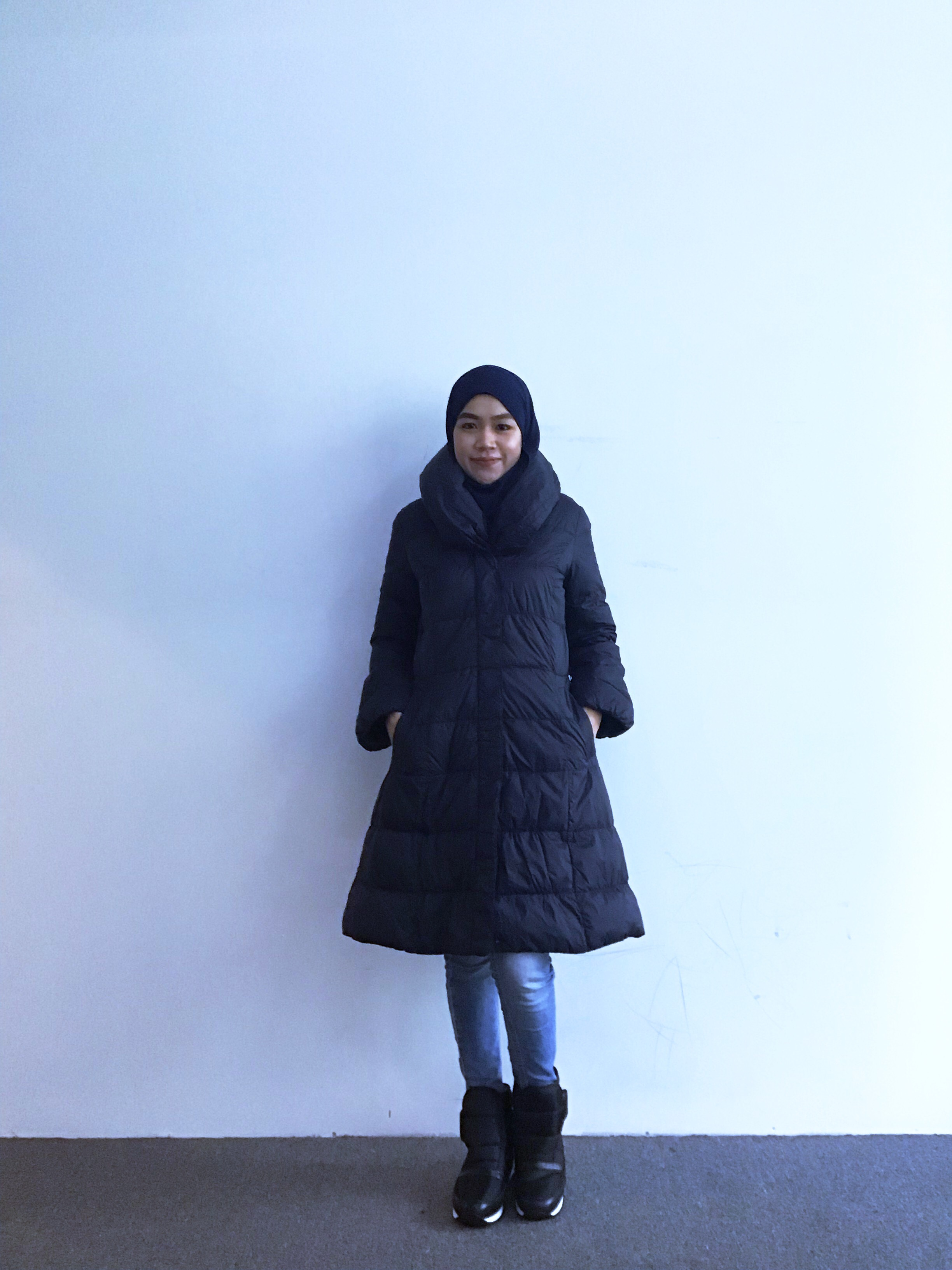 BJ0369 COMME CA ISM DOWN JACKET