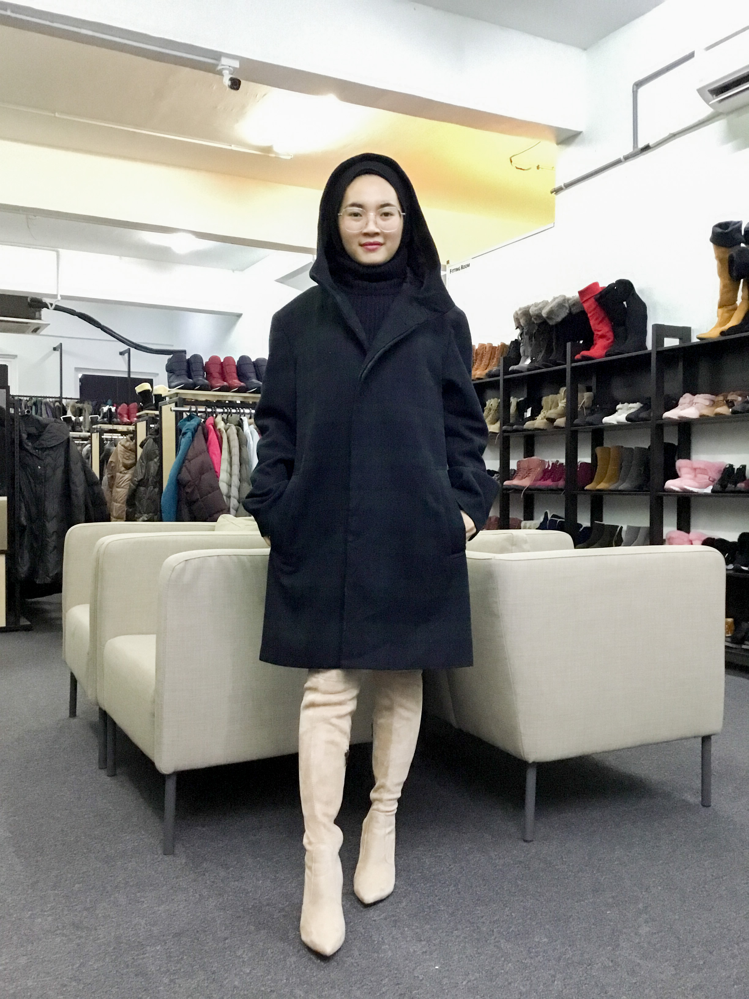 BP6302 GU WOOL COAT