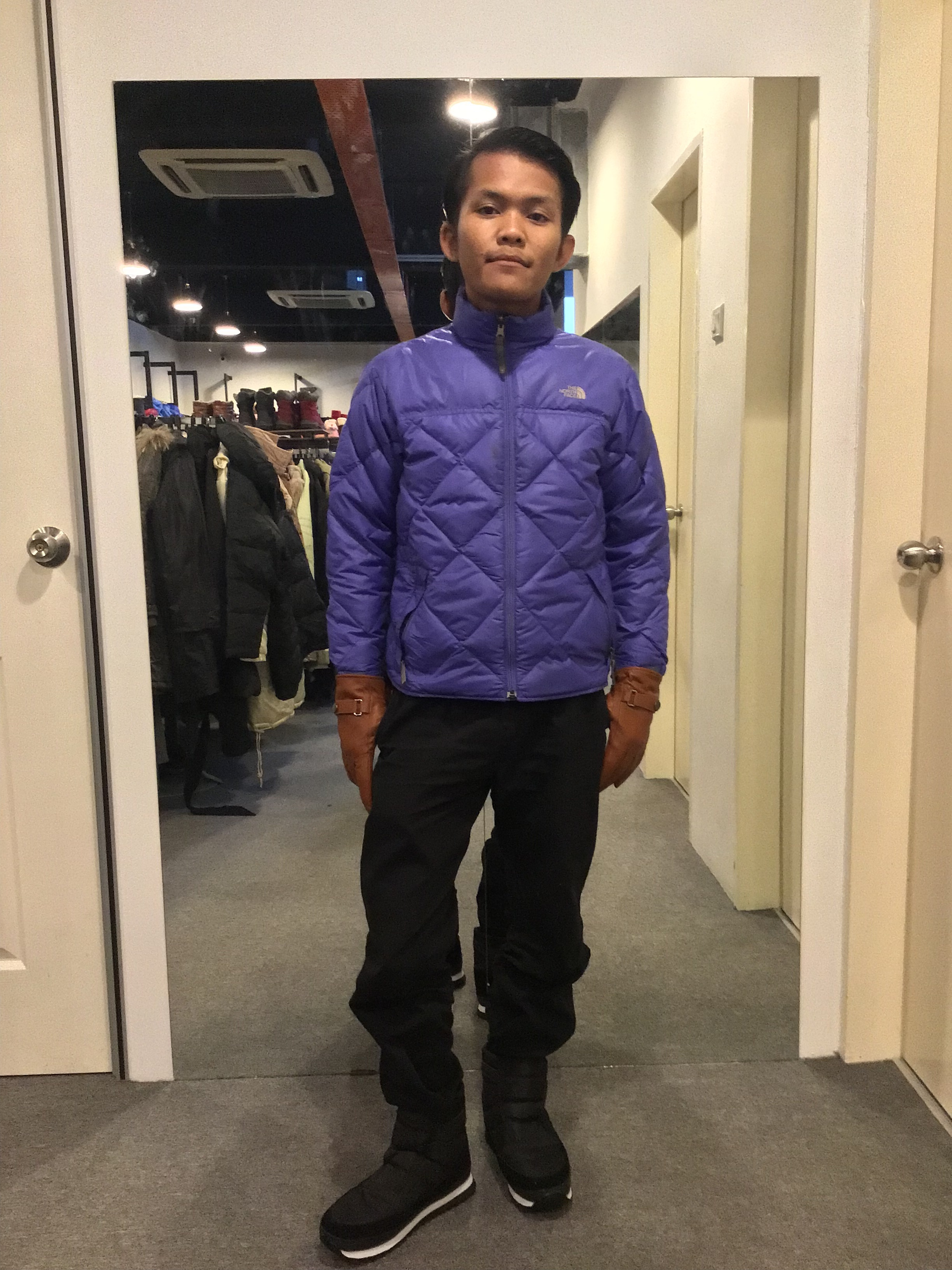 BJ0498 THE NORTH FACE DOWN JACKET
