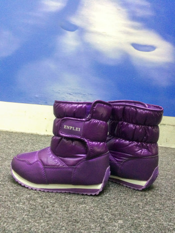 SNOW BOOTS KIDS ANKLE WATERPROOF & ANTI SLIP