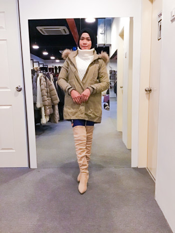 BP6284 BASIC TONE WINTER JACKET - Bundle Preloved