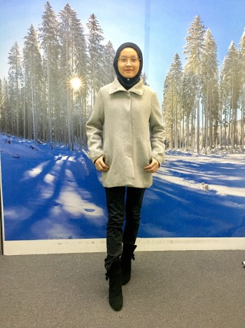 BP5720 FUSE WOOL COAT