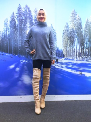 BP5414 COMME KNITTED SWETER
