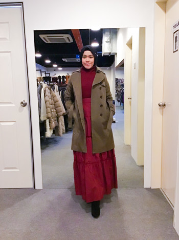 BP5990 SANS FIN WINTER COAT  - Bundle Preloved