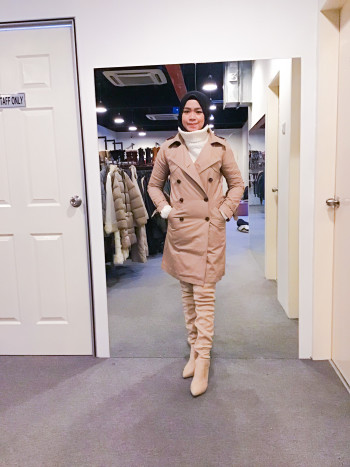 BJ1003 SERAFINO TRENCH COAT - Bundle Preloved
