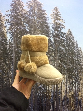 WINTER BOOTS KIDS FLEECESOLE