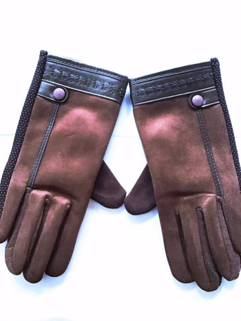 GLOVE COTTON WITH VELVET (BRAND NEW)