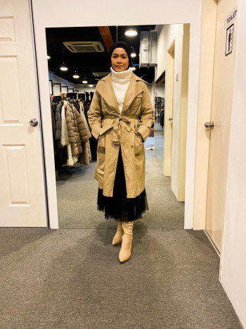 BJ1042 LIVE COMFORT WOOL COAT - Bundle Preloved