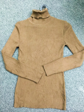 BJ1466 DARK BROWN KNITWEAR - Bundle Preloved