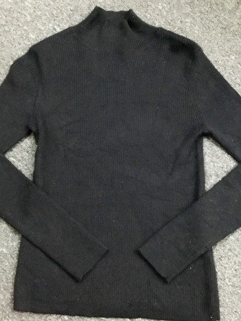 BJ1135 BLACK WINTER JACKET - Bundle Preloved