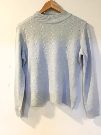 BJ1351 BLUE KNITWEAR - Bundle Preloved