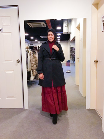 BJ1058 CAMERON RACY WOOL COAT - Bundle Preloved