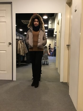 BJ0529 LOVE OTHER WINTER JACKET
