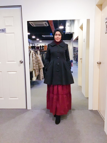 BP5891 BEGUM TRENCH COAT - Bundle Preloved