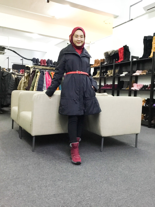 BP6609 IO COMME IO WINTER JACKET - Bundle Preloved