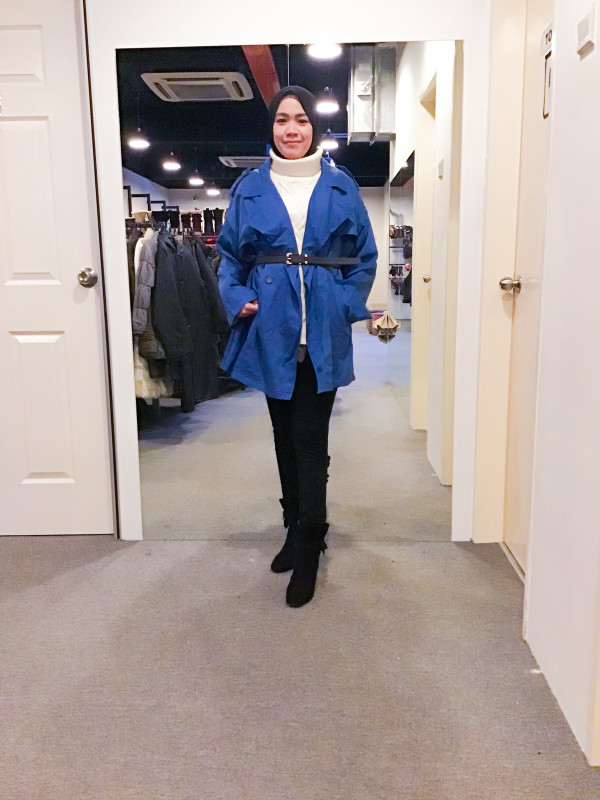 BJ1094 AS KNOW AS TRENCH COAT - Bundle Preloved