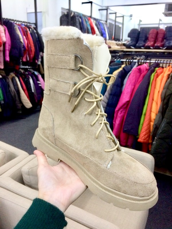 SSN180 SNOWBOOTS HIGHCUT NUDE - Bundle Preloved