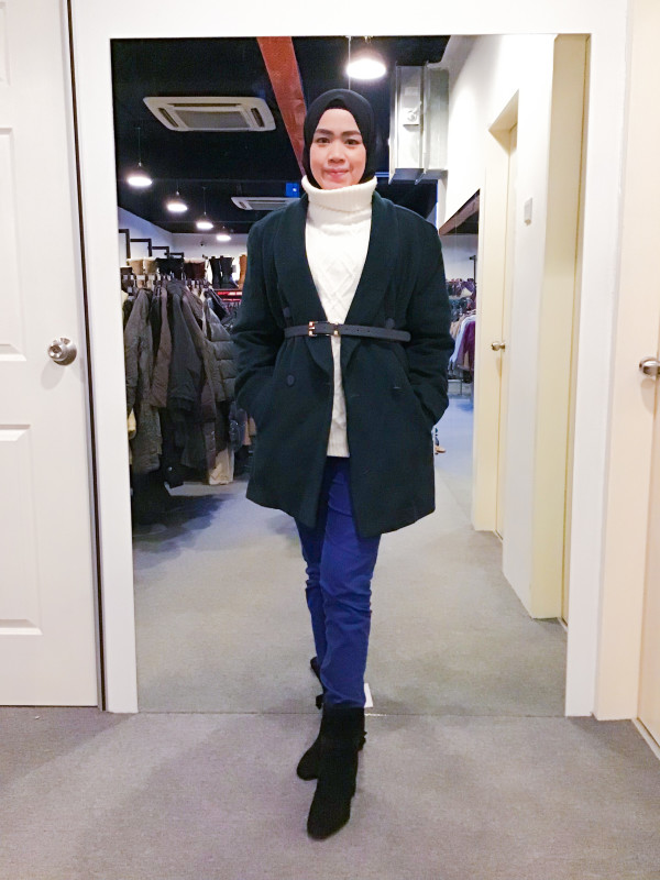 BJ1060 JANE MORE WOOL COAT - Bundle Preloved
