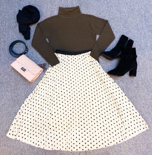 BJ1336 CABLE KNITWEAR - Bundle Preloved
