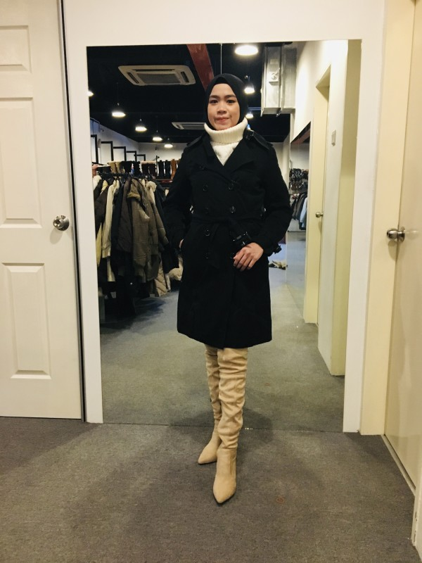 BJ0992 AS KNOW AS TRENCH COAT - Bundle Preloved