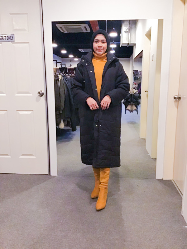 BJ1206 RISCAL WINTER JACKET - Bundle Preloved