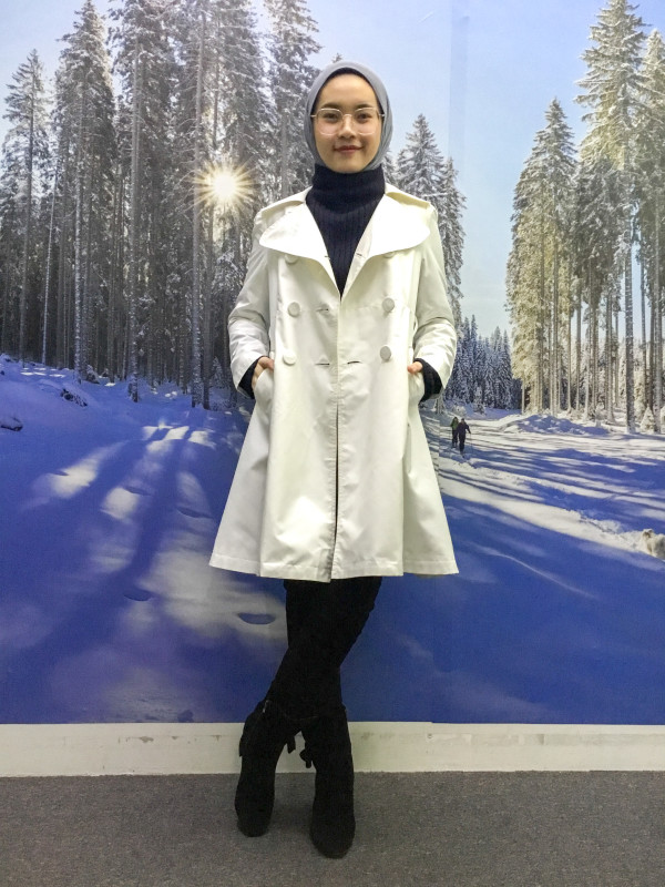 BP6100 KNOW BEANS TRENCH COAT  - Bundle Preloved