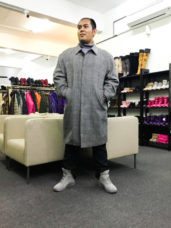 BP6554 BE6 WOOL COAT - Bundle Preloved