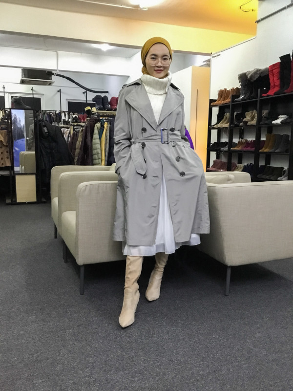 BP6469 MARIE CLAIRE TRENCH COAT - Bundle Preloved