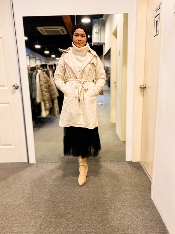 BJ1282 AND A TRENCH COAT - Bundle Preloved