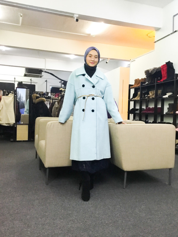 BP6600 KOJI WATANABE STYLE WOOLC COAT - Bundle Preloved
