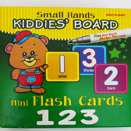 Kiddies's Board Mini Flash Cards 123 - Kidcited Learning Store