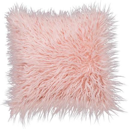 Sheepskin Faux Furry Cushion Multicolored