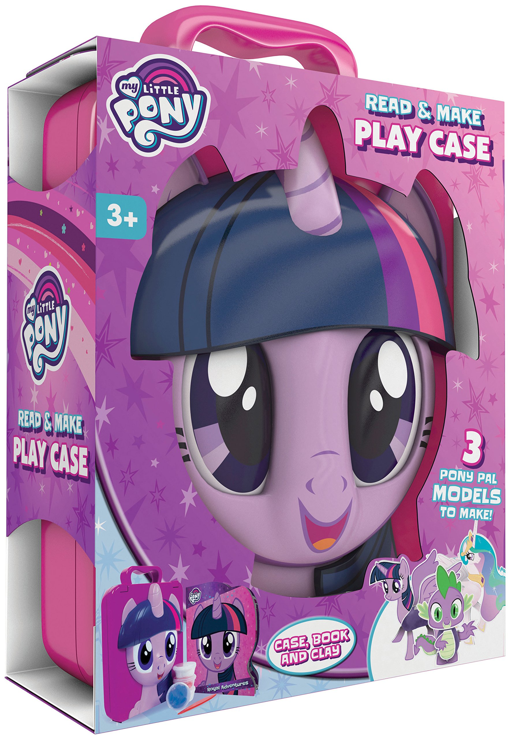 My Little Pony Read & Make Play Case