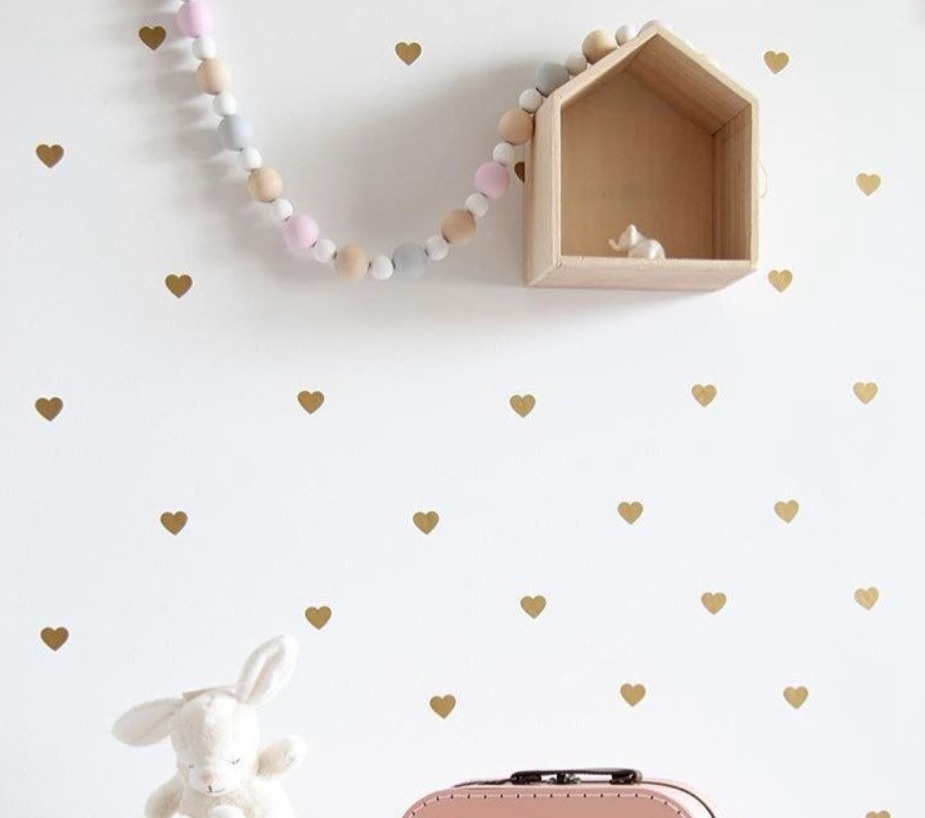 Heart Wall Decals / Stickers