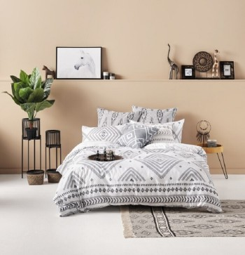 Ombre Home Artisan Soul Muse Quilt Cover Set KING