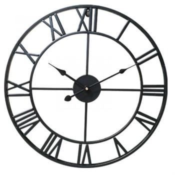 Large Metal Clock 60cm Diameter