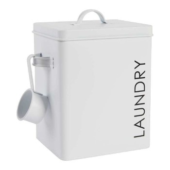 Laundry Powder Tin with Metal Scoop