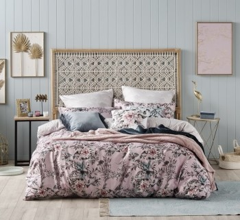 Ombre Home Sakura Bloom Avery Quilt Cover KING