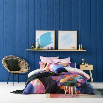 Ombre Home Radiant Mineral GEO Quilt Cover Set-KING