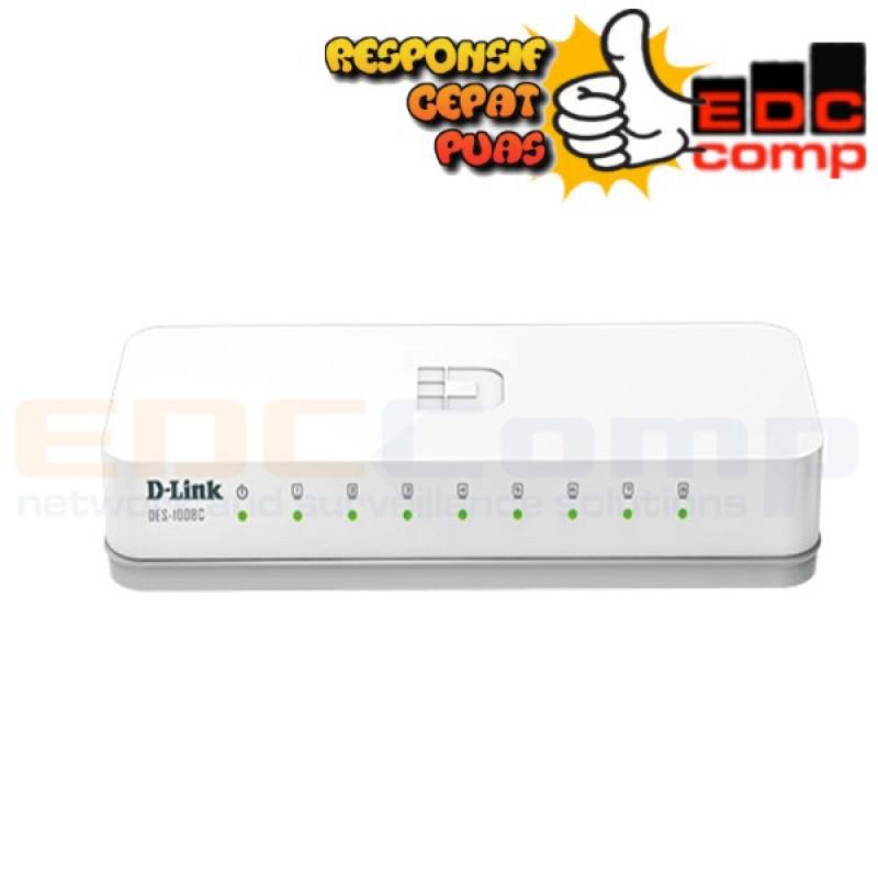 D-Link 5-Port 10/100 Desktop Switch DES-1005C - EdcComp