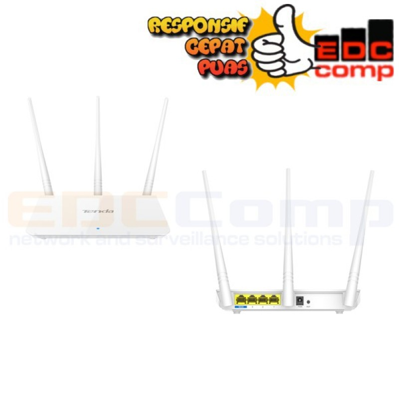 Tenda F3 Wireless Router 300Mbps