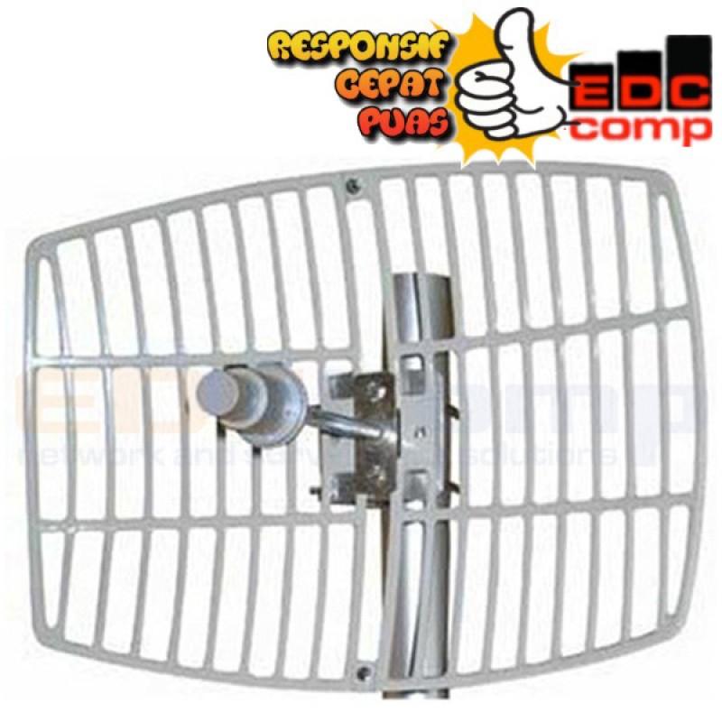 Kenbotong Outdoor Antena Grid 5.8Ghz 30dbi / KBT TDJ5800SPL9 - EdcComp