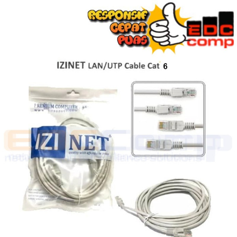 Patch Cord IZINET Cat5E 10 Meter
