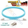 OM3 Duplex LC Fiber Optic Patch Cords 5 M - EdcComp